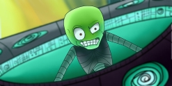 Alien Cut Scene Art