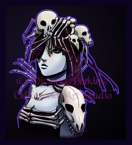 Skull Queen_copyright