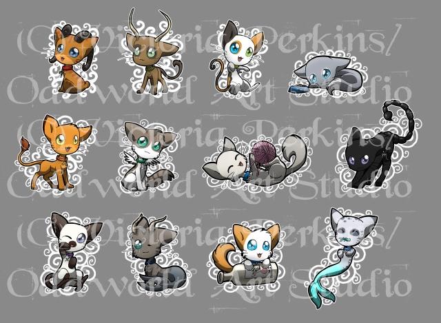 Zodiac Cats_copyright